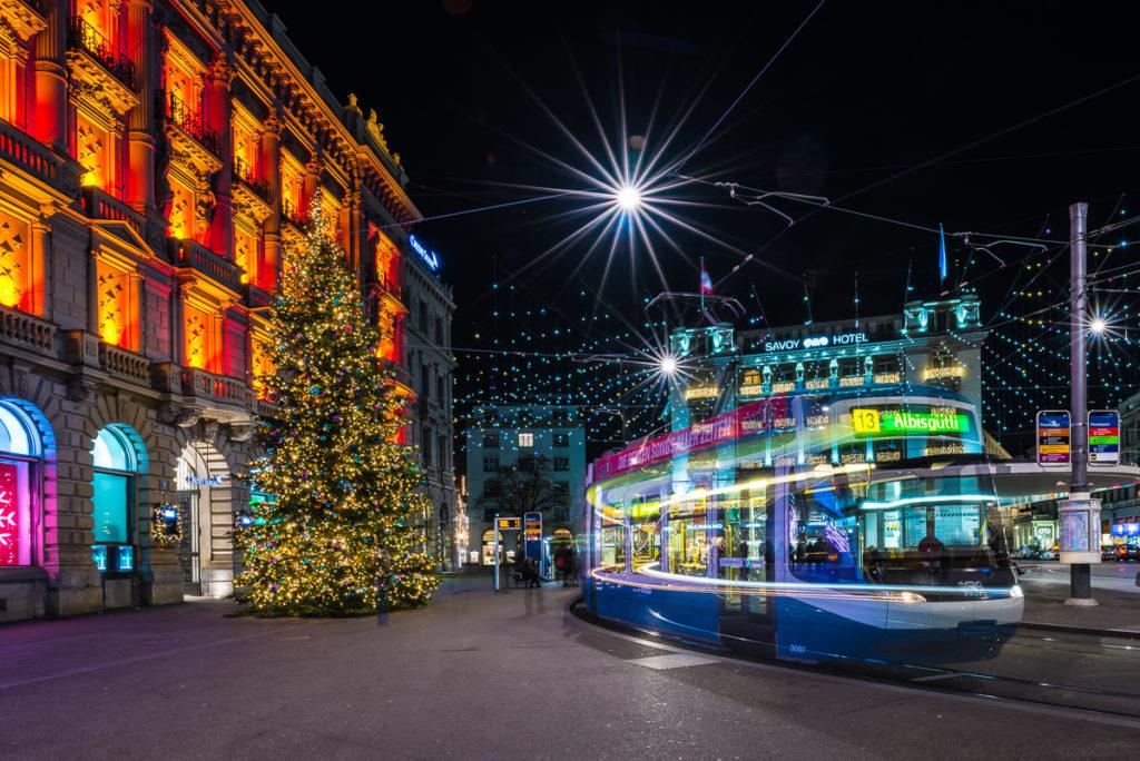 Fotoworkshop – Zürich – Weihnachtslichter