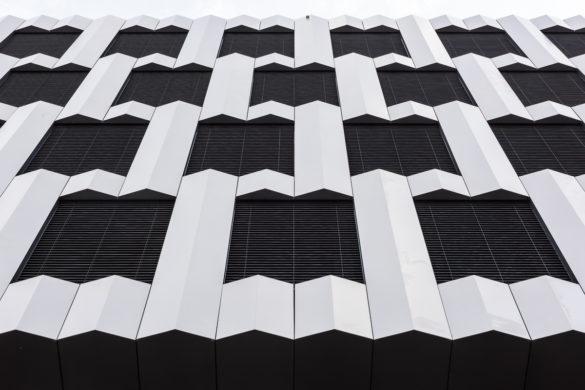 Architektur, Fassaden, Formen und Strukturen