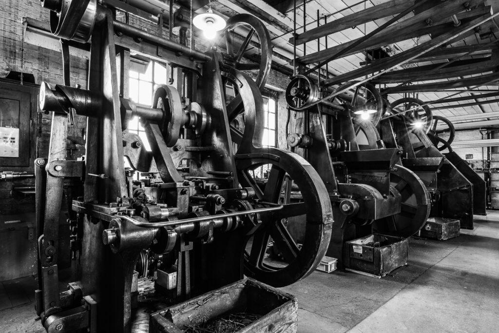 """Fotoworkshop – """"Modern Times"""" Schwarzweiss-Fotografie in der Nagelfabrik – 9. Oktober 2021"""